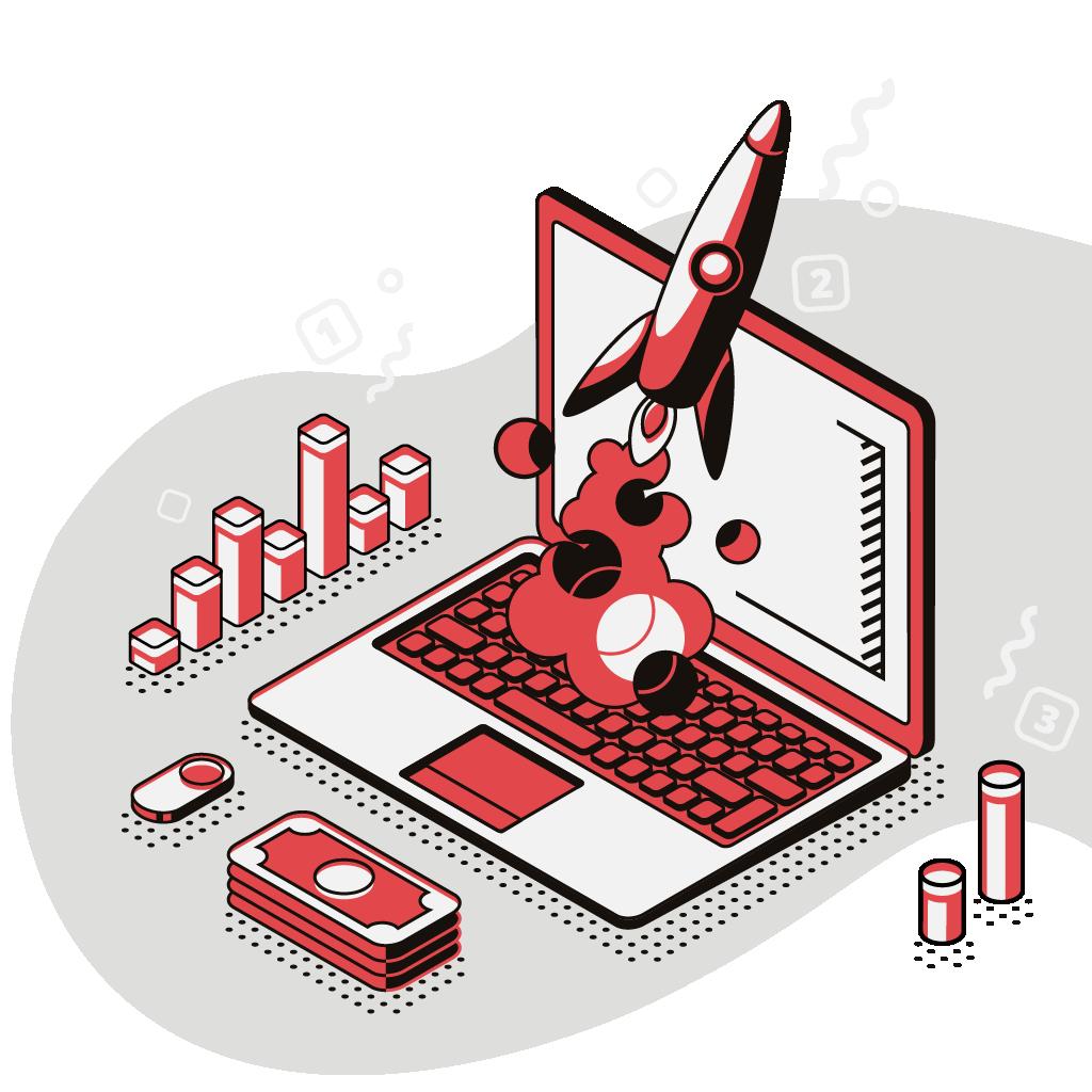 Illustrazione per la sezione di Business Intelligence